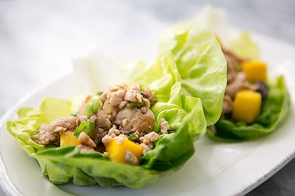 HoneyKist w/ Chicken Mango Lettuce Wraps