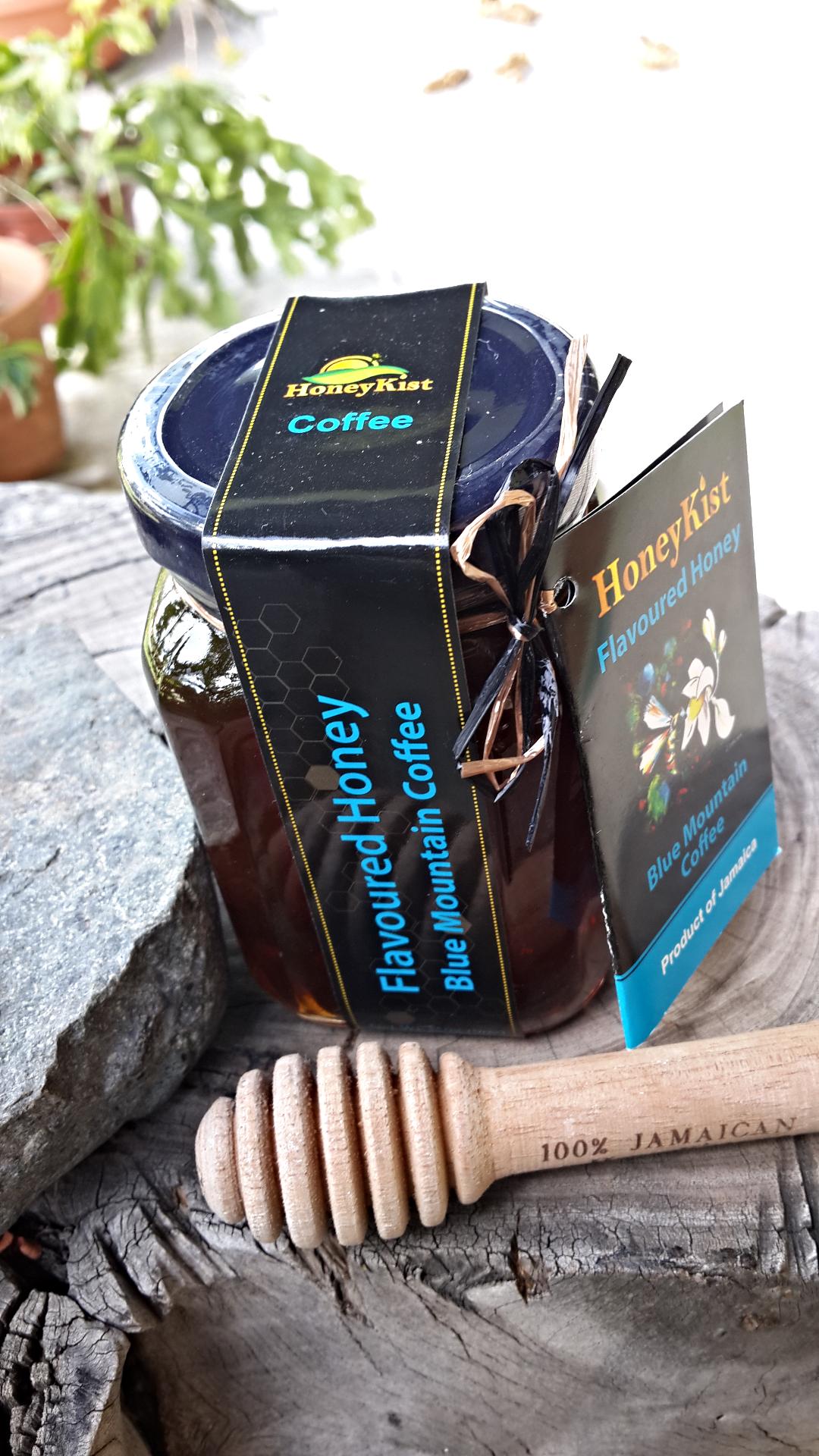 100% Pure Raw Flavoured Honey