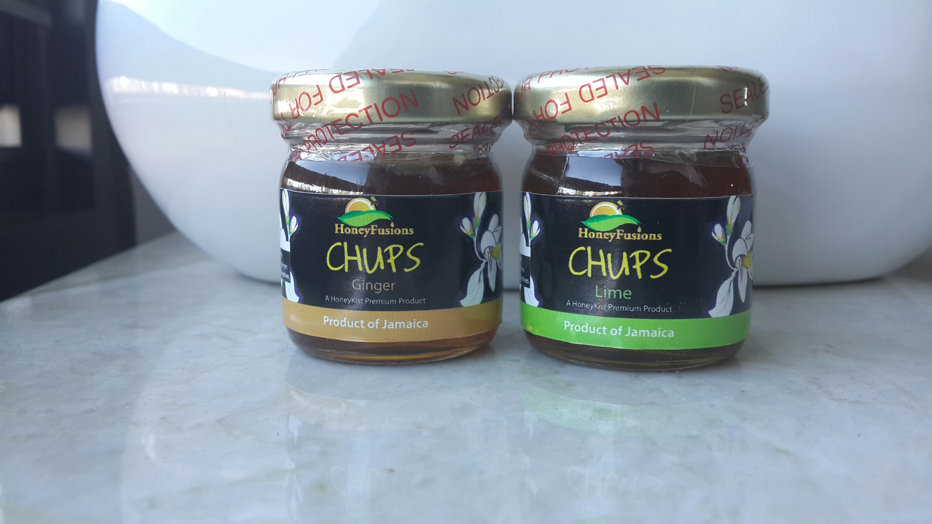 Ginger & Lime Flavoured Honey Fusion