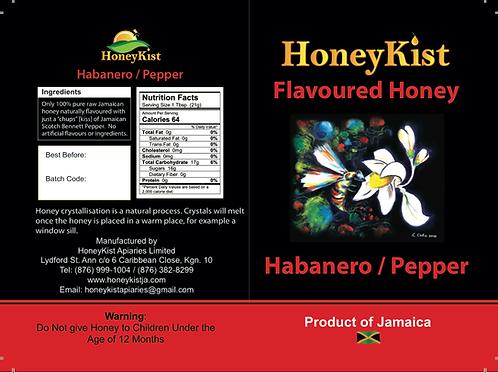 HoneyKist Scotch Bonnet Flavoured Honey 5oz