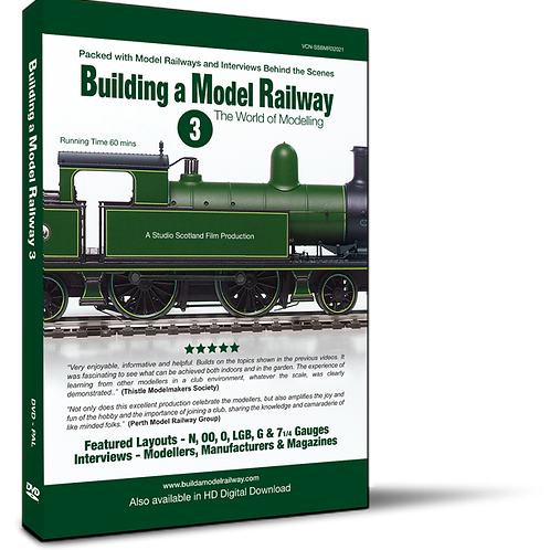 Building a Model Railway 3 - The World of Modelling (DVD)