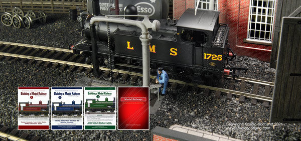 Build a Model Railway series with the LMS locomotive