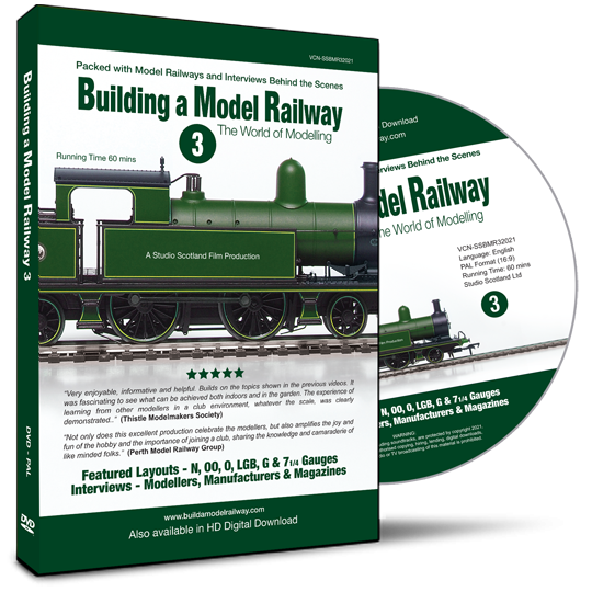 Building a Model Railway 3, DVD case & disc
