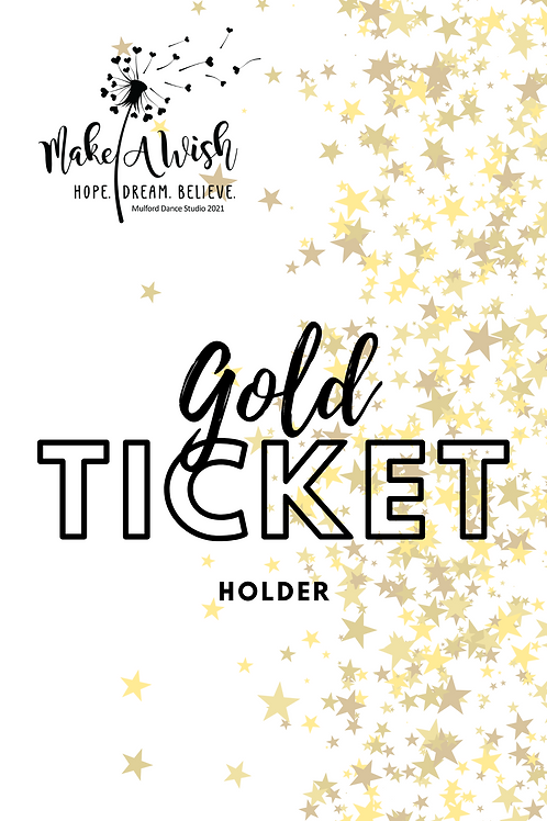 Gold Recital 2021 Ticket Package