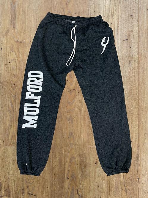 Mulford Logo Sweatpants - Dark Gray