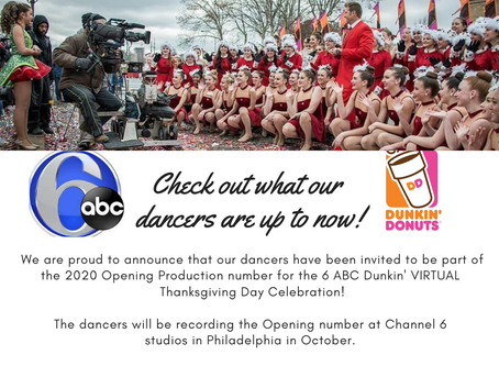 Exciting News for our Mulford Dancers!