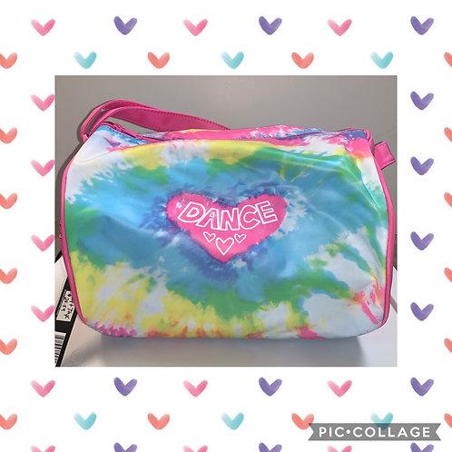 Kids Tie Dye Duffel Dance Bag