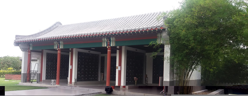 Nirvana Tiram Centre Courtyard Columbarium