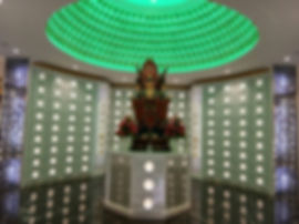 Nirvana Kulai White Robed Deity Columbarium