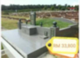 Nirvana Tiram Burial Plot