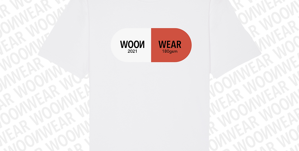 Red_Pill_Tee // White