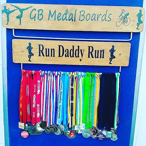 Run Daddy Run 70cm Oak Colour