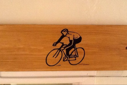 Oak Stained Cycling Medal Display Board(45cm wide)