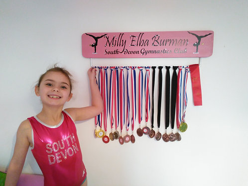 Club Personalised Gymnastic Medal Board 70cm