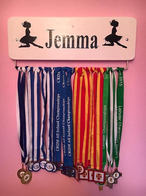 Personalised Irish Dance Medal Board  (45cm)