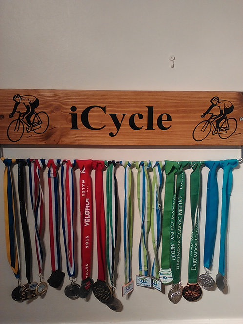 oak Cycle Medal Display Board (45cm)