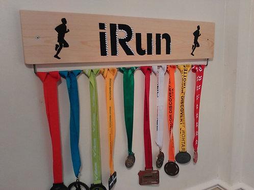 Running Medal Display Board Male (45cm wide)