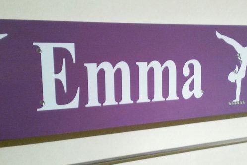 Personalised Gymnastic Board Purple(45cm)