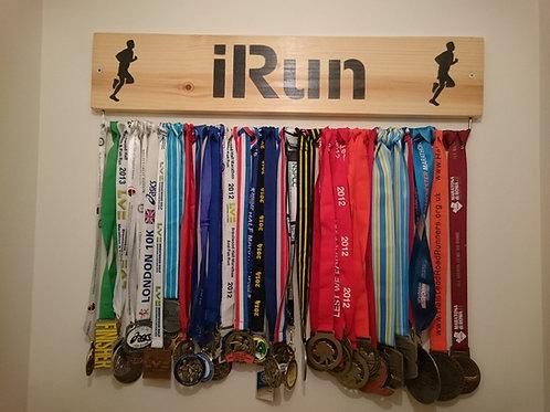 Running Medal Display Board Male (70cm wide)