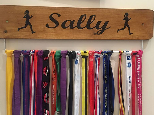 Personalised Running Name Only Male/Female Medal Board(70cm)