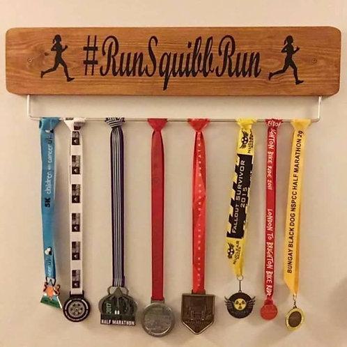 Personalised Running Male/Female Medal Board(70cm)