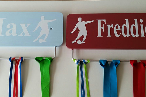 Football Personalised 45cm Width Colours