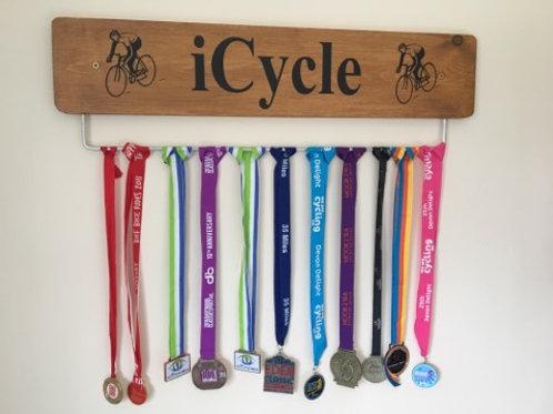 Oak Cycle Medal Display Board (70cm)