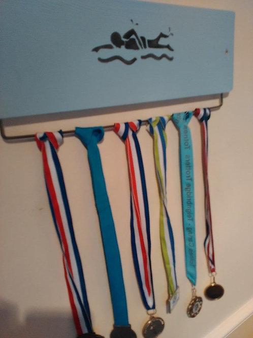 Swimmer Medal Board 45cm