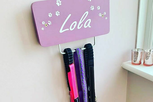 Dog lead holders