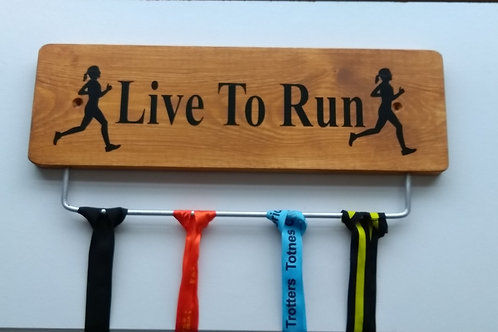 Live to Run 45cm Oak