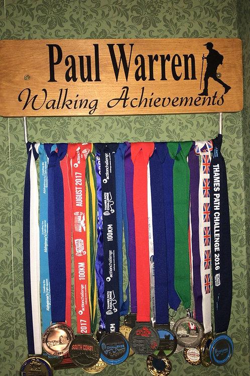 Walking/hiking Medal Hanger 🏅