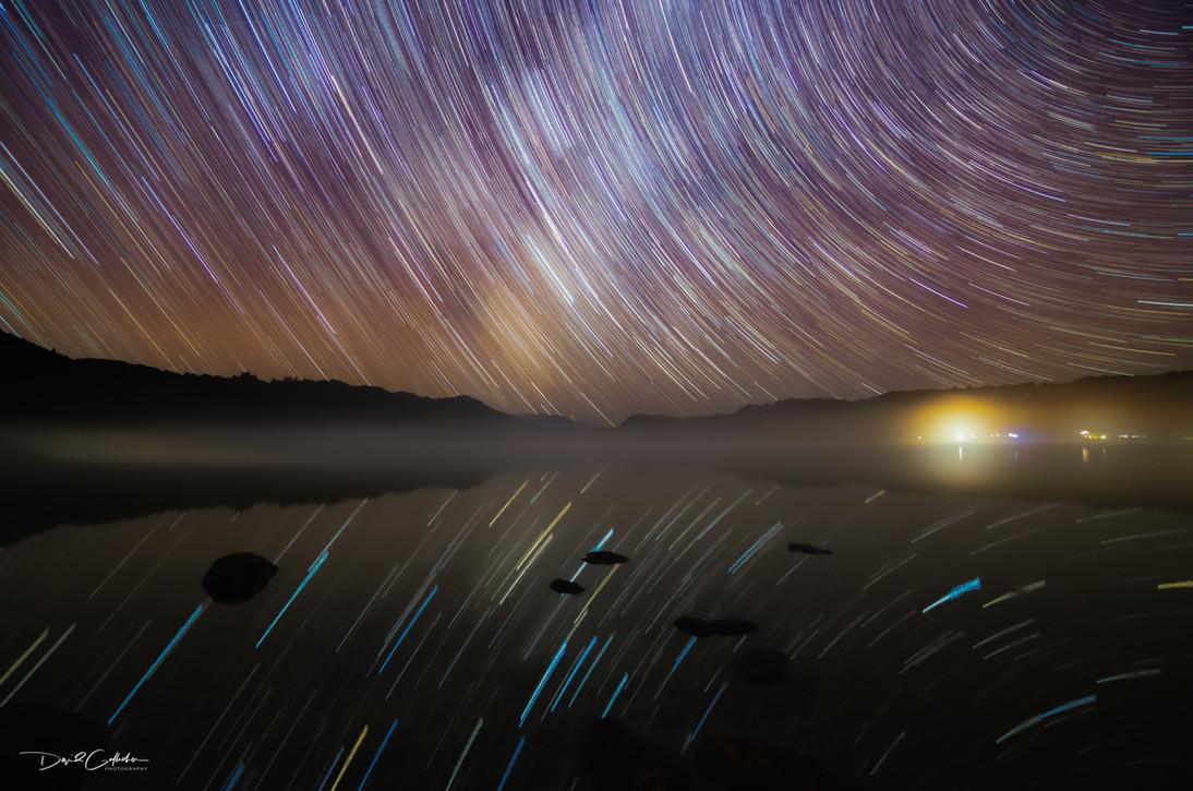 Star Trail reflection