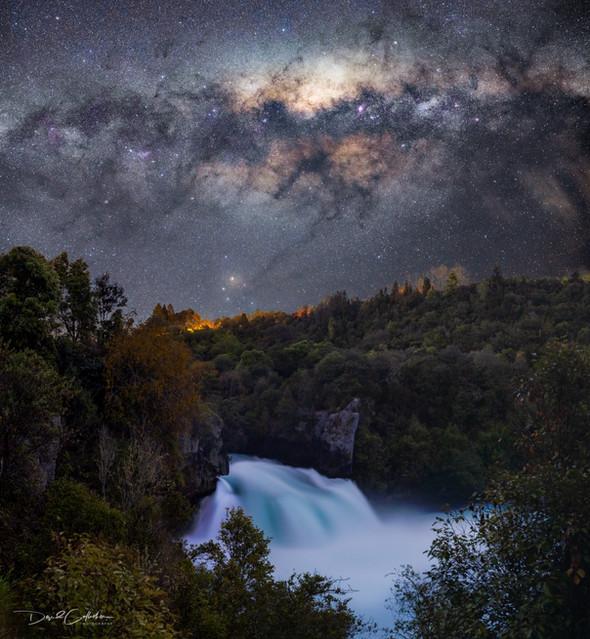 Huka Falls Milkyway