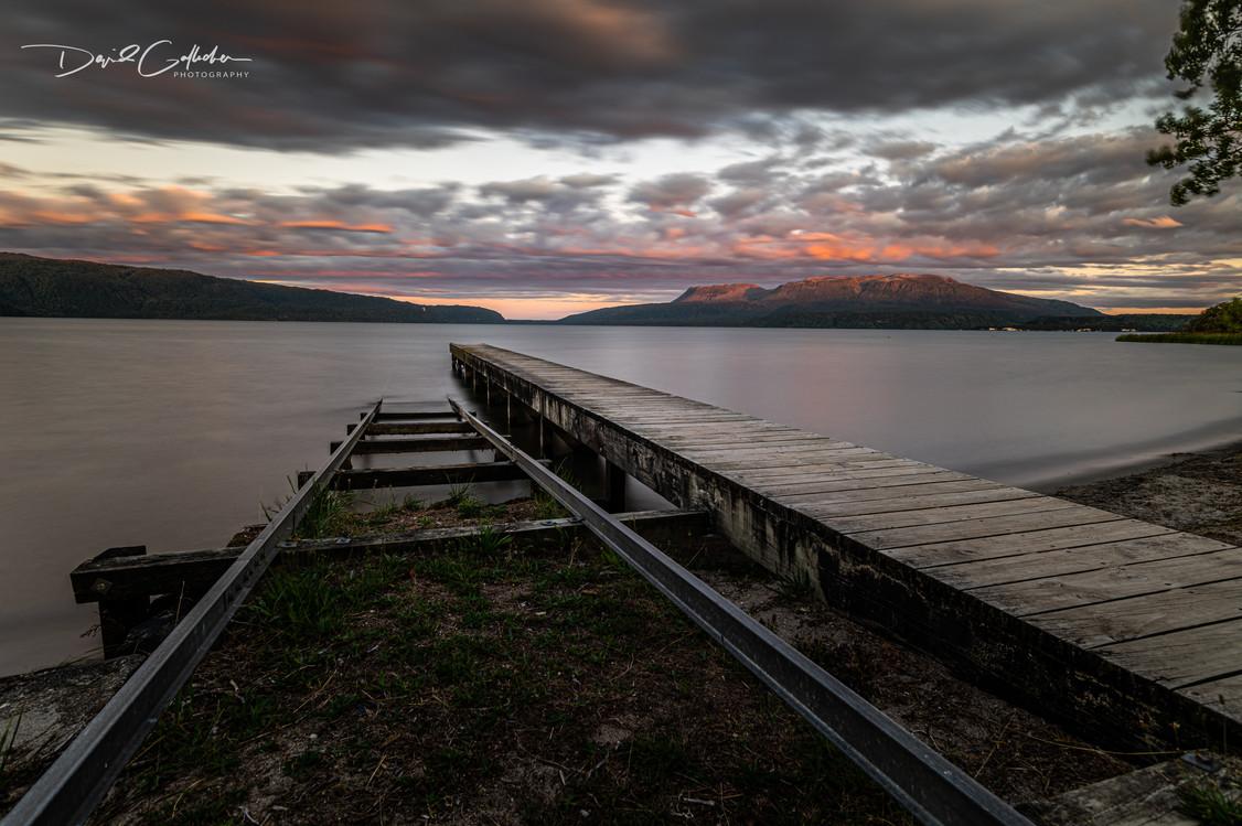 Mt Tarawera Sunset