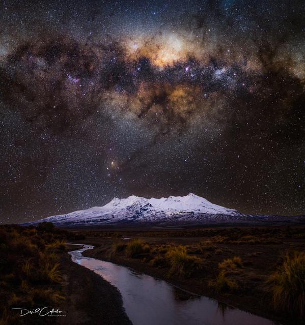 Ruapehu Milky way exsplosion