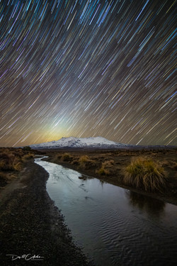 whakpapa star trail-Edit