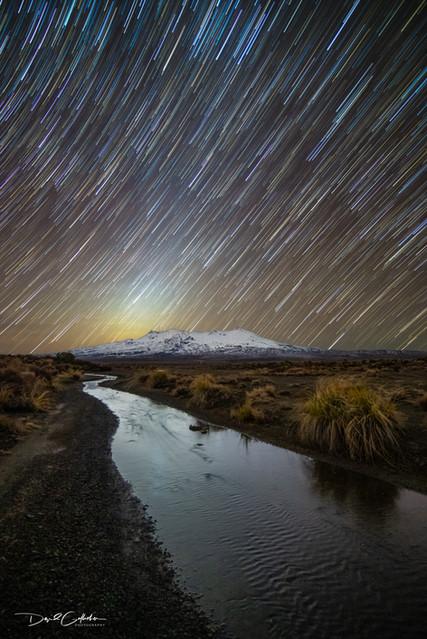 whakpapa star trail