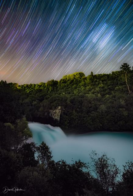 Star Trail Huka Falls