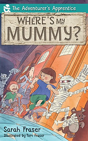 Where's my mummy book