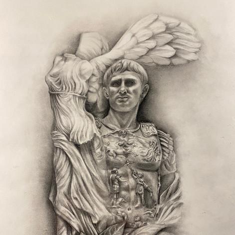 'Nike and Marcus Aurelius'