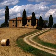Farmhouse near Pienza, Tuscany