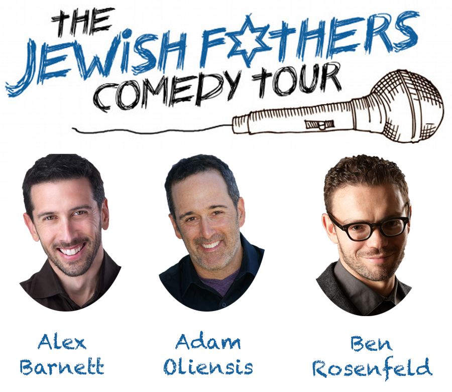 Jewish Fathers Comedy Show Flyer