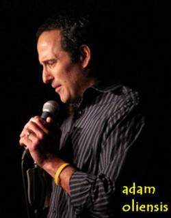 Adam performing