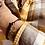 Thumbnail: Bracelet Queen - Gravé - Or