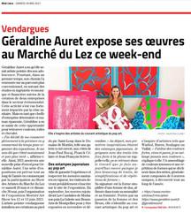 Géraldine Auret_Midi Libre