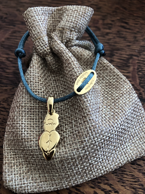Bracelet Queen - Gravé - Or