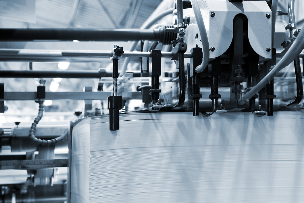 The equipment for a press in a modern printing house.jpg