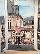 Stine Reintoft_Breakfast on the balcony_60 x 80_Acryl on Canvas_2021_£1800.jpg