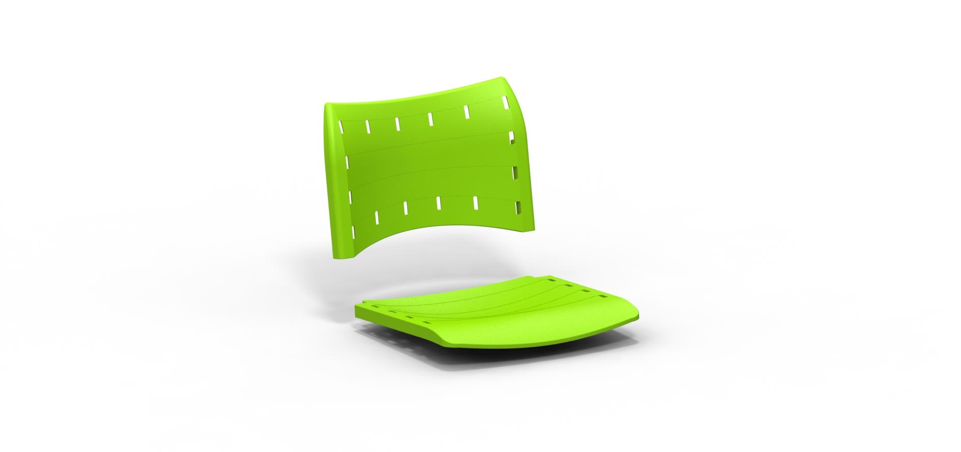 Componente plástico Compact