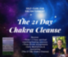 The 21 Day Chakra Cleanse Yoga Center Up